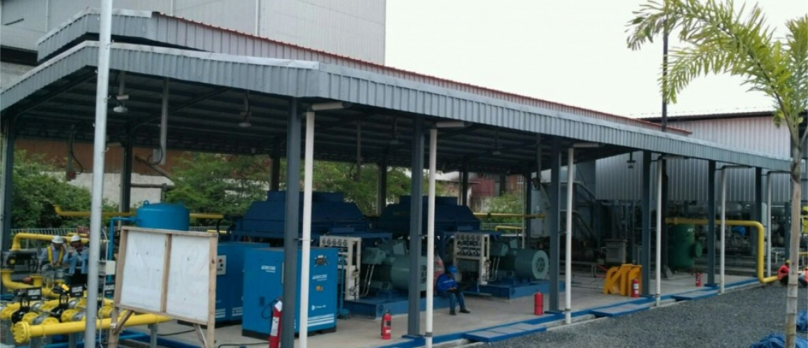 CNG Tarahan Lampung PT. Enviromate Technology International