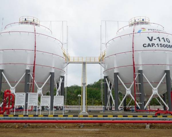Depot LPG Pressurized Lombok PT. Pertamina Patra Niaga  PT. Abadi Citra Bersama