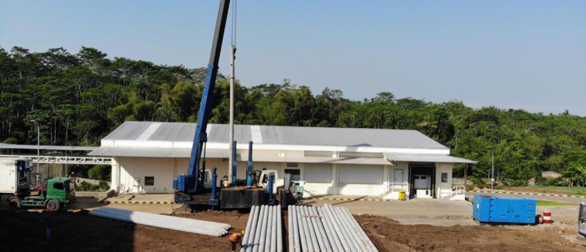 Project Extensions Coldstorage dan Warehouse PT. Greenfield Indonesia