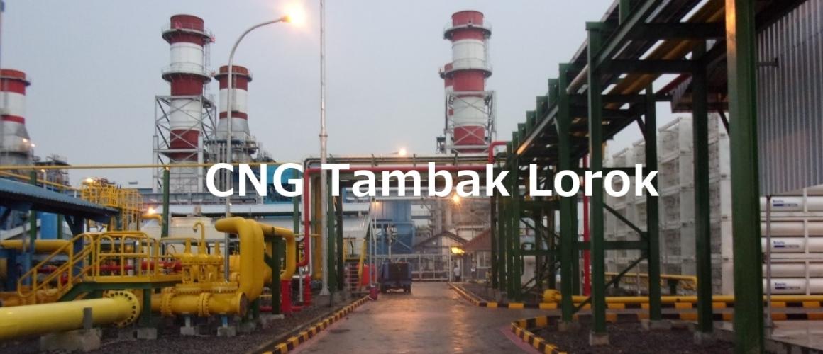 CNG Plant Tambak Lorok PT. Pertadaya Gas Semarang